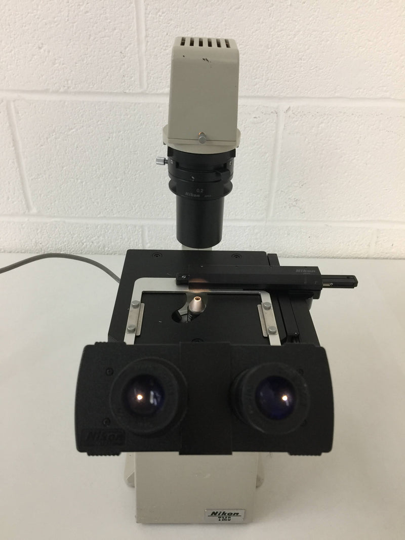 Nikon TMS Inverted Phase Contrast Microscope - Richmond Scientific