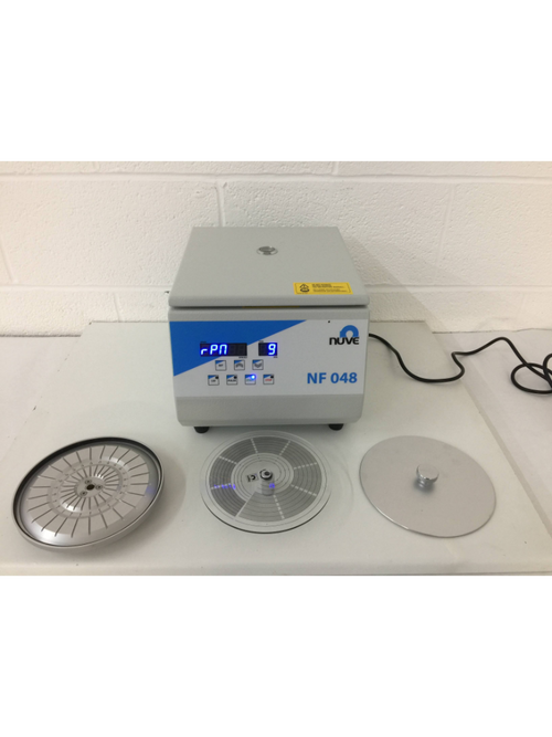 Nuve NF 048 - Micro & Haematocrit Centrifuge (1) - Richmond Scientific