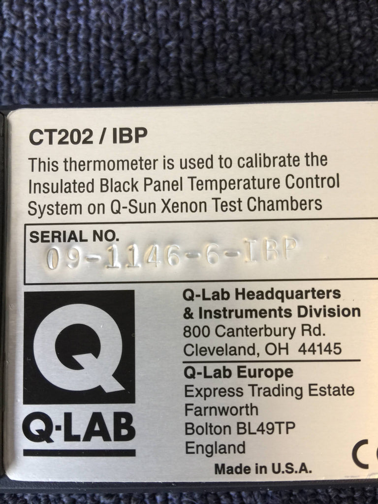 Q-Lab CT202, Made in USA