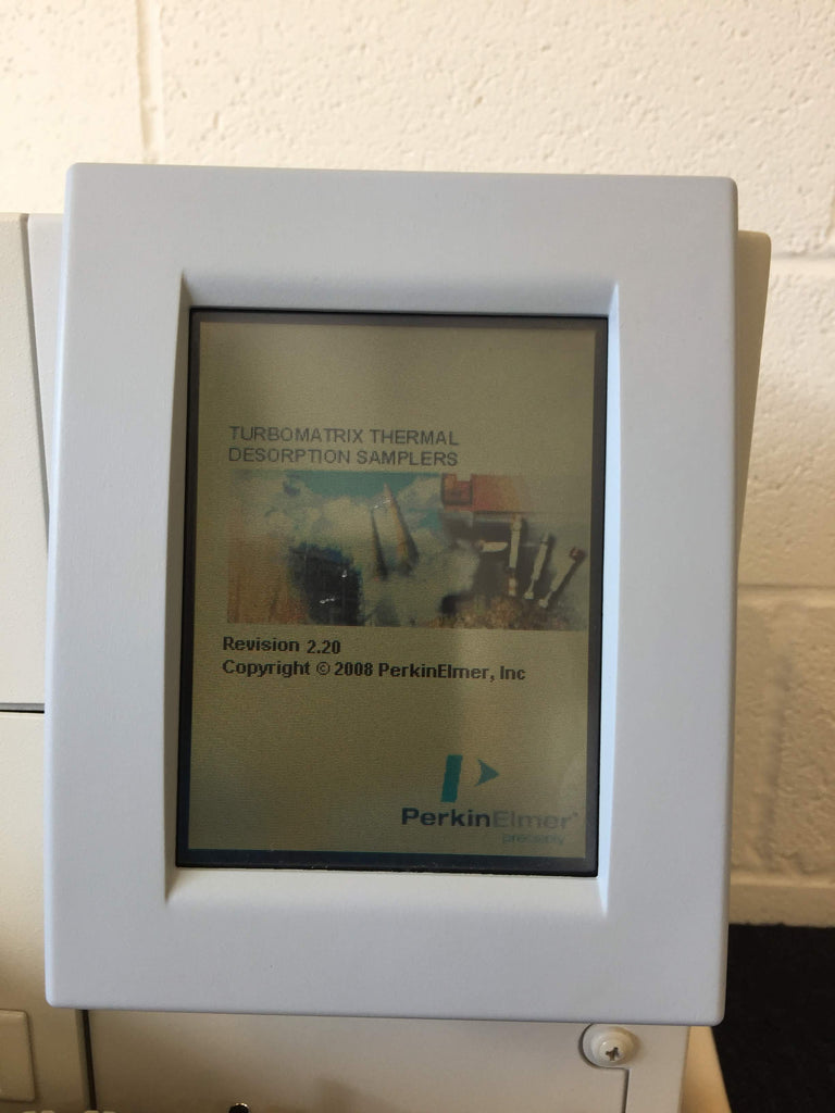 Perkin Elmer Turbo Matrix 150 Thermal Desorber Digital Screen