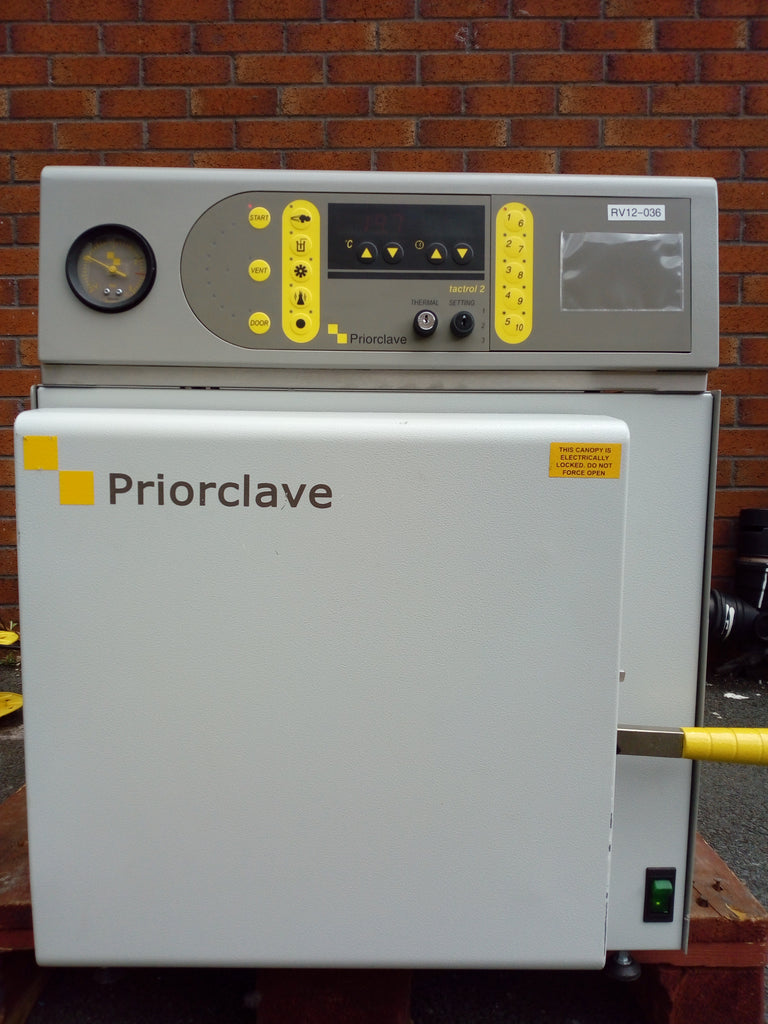 Priorclave 60L Benchtop
