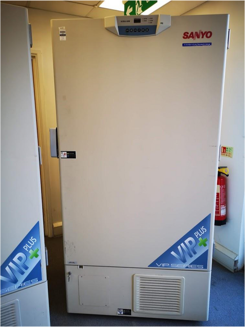 SANYO MDF-U76V -86 VIP Ultra Low Freezer - Richmond Scientific