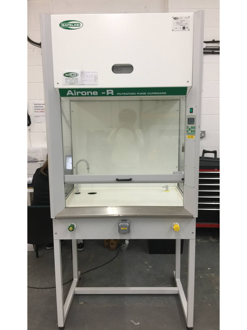 Safelab Airone-R Filtration Fume Cupboard - Richmond Scientific