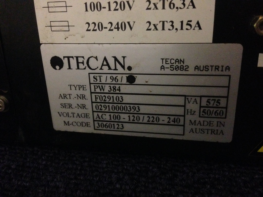 Tecan PW384 Plate Washer