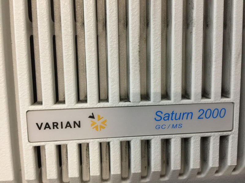 Varian CP-3800 Gas Chromatograph, Saturn 2200 GC/MS/MS & CTC Analytics COMBIPAL Autosampler - Richmond Scientific