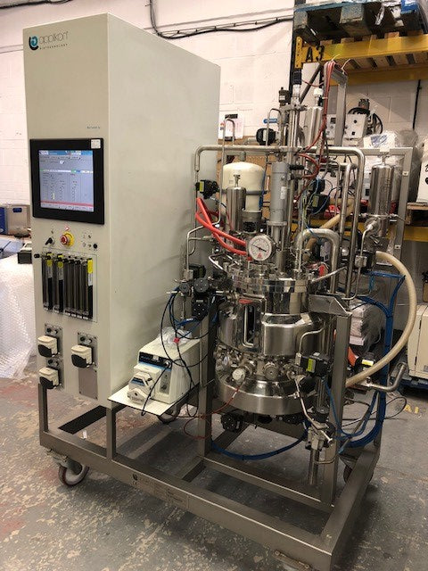 Applikon Biotechnology Pilot System Mammalian Cell Culture Bioreactor 30L (12049832B)