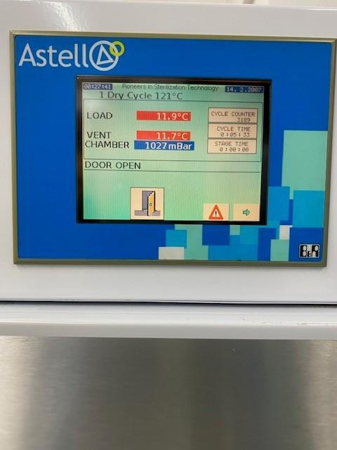 Astell ASB 270 Front Loading 275L Autoclave - Richmond Scientific