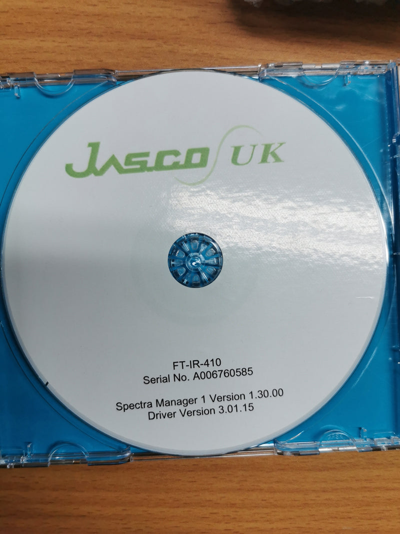 Jasco FT/IR-4100 - Richmond Scientific