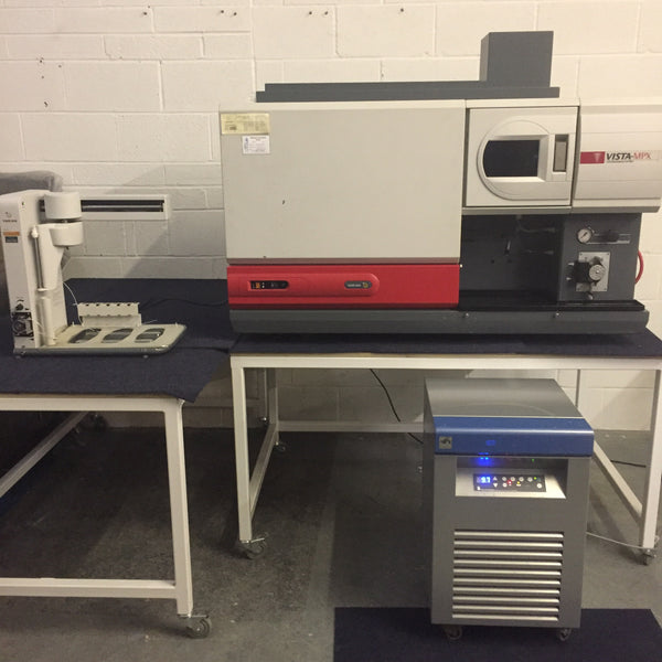 Varian Vista-MPX CCD Simultaneous ICP-OES. Varian SPS3 Sample Preparation System. Van Der Heijden Cooling System