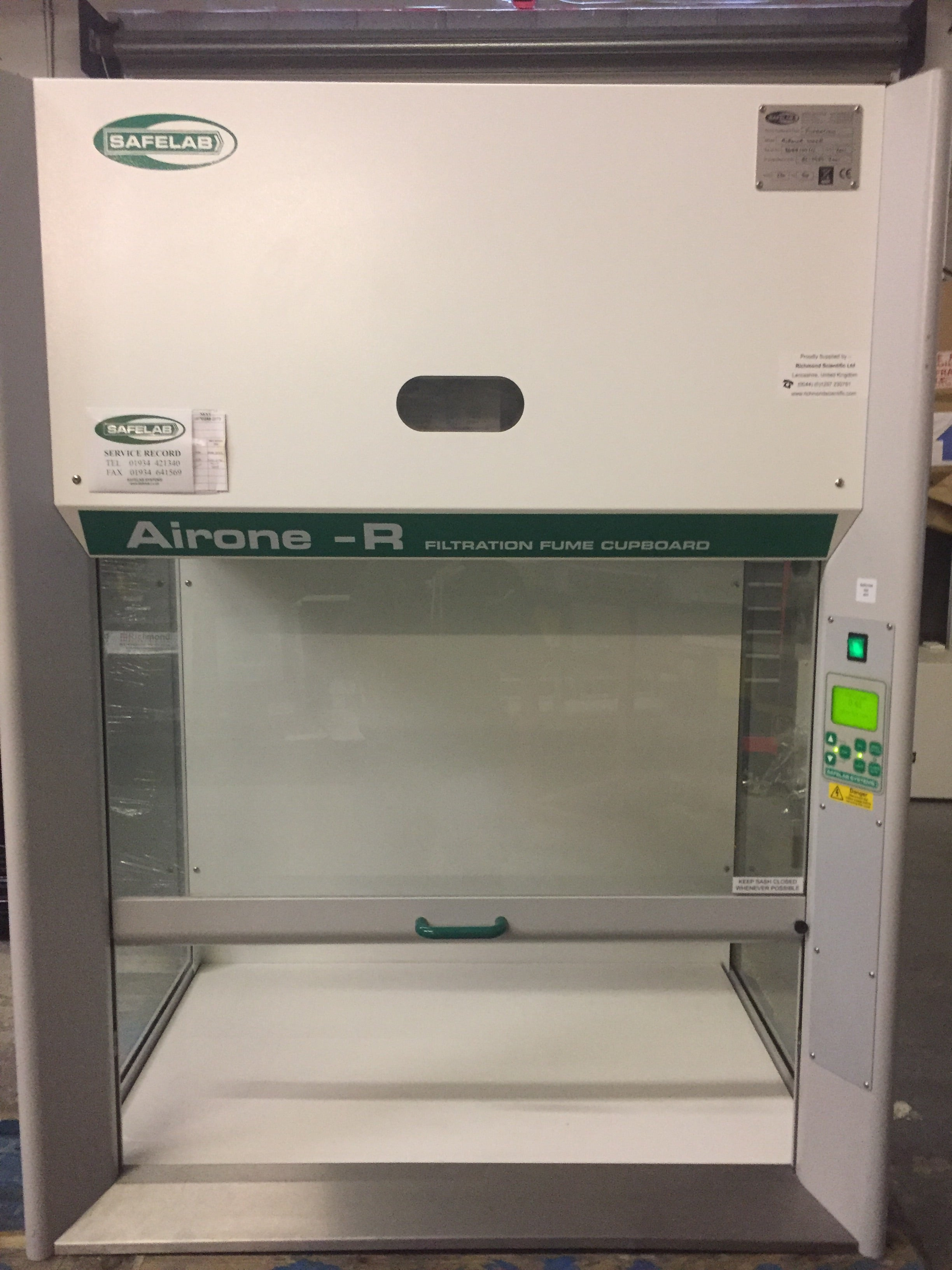 Airone - R 1000 Filtration Fume Cupboard