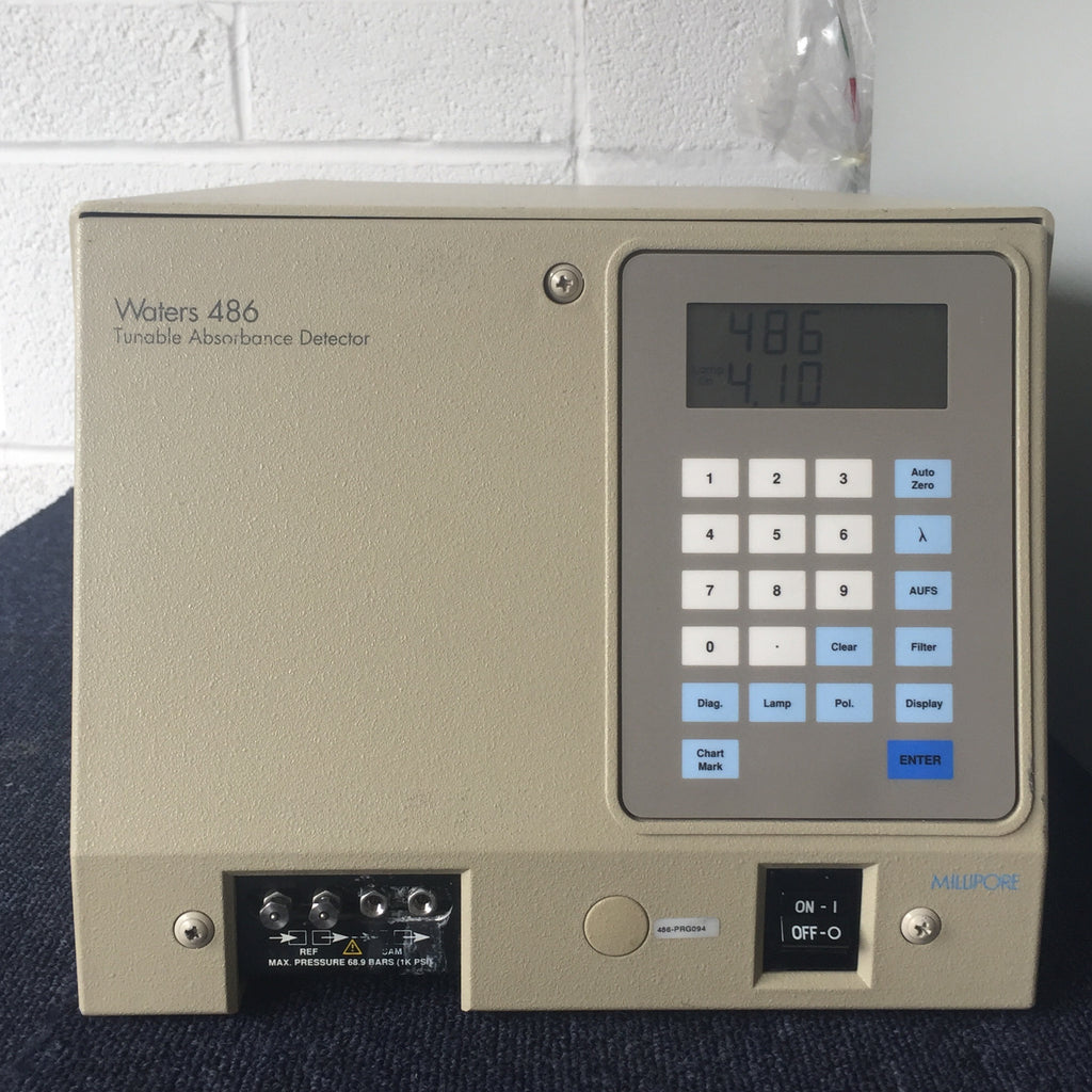 Waters 486 Tunable Absorbance Detector and Waters 2695 Separations Module