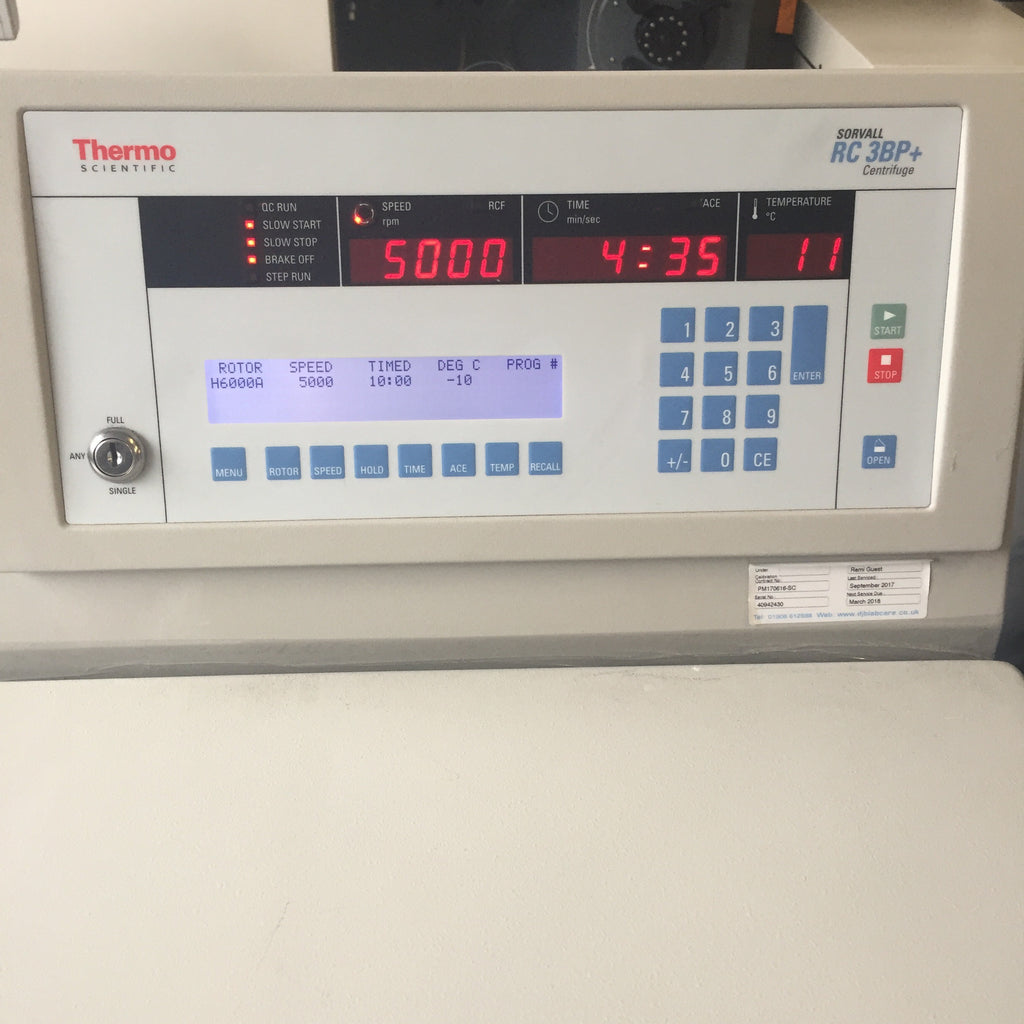 Thermo Scientific RC 3BP Centrifuge