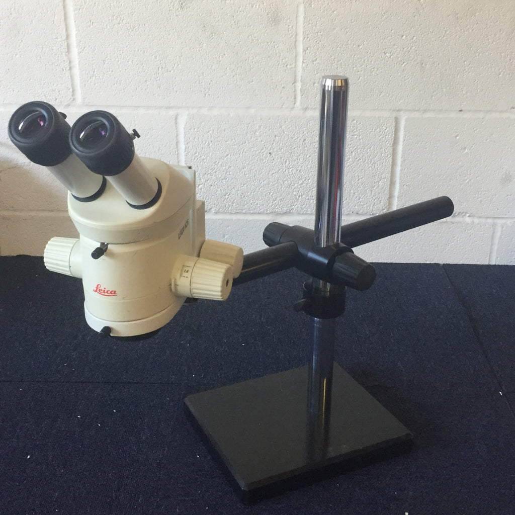 Leica Stereo Microscope and Large Stand
