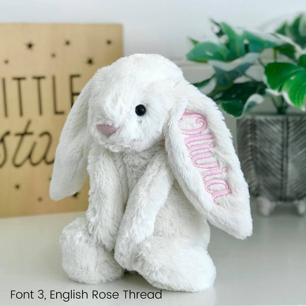 Personalised Jellycat Bunny Newborn Gift Hamper - Cream