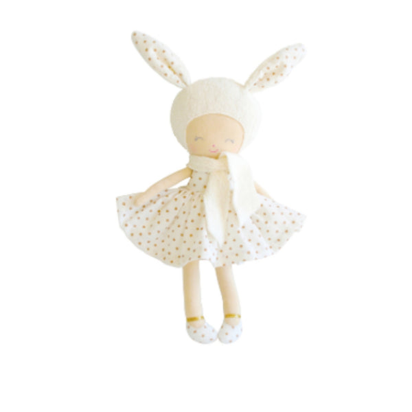Personalised Alimrose Belle Bunny - Gold Spot