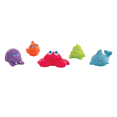 Playgro | Under the Sea Squirtees - 5pcs