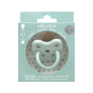 Hevea | Natural Rubber Colour Pacifiers - Mint