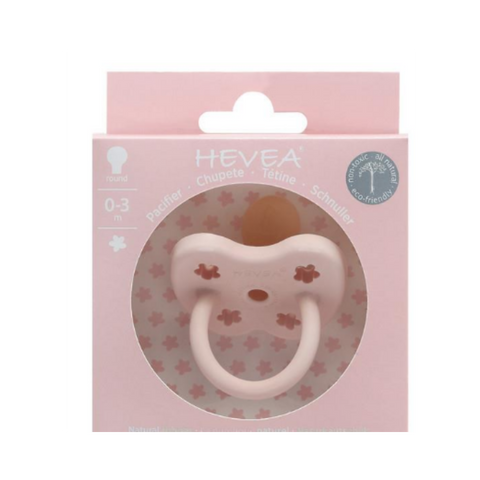 Hevea | Natural Rubber Colour Pacifiers - Pink