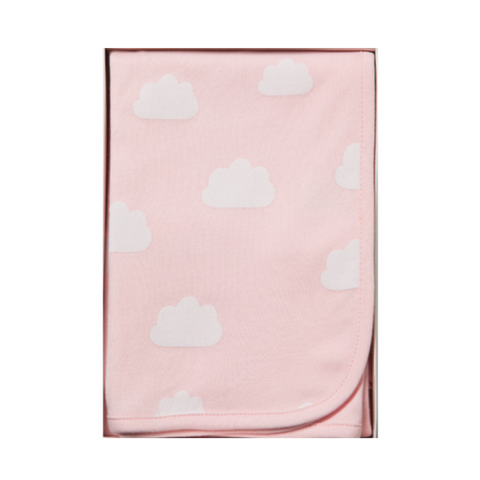 Emotion & Kids | Pink Clouds Jersey Wrap