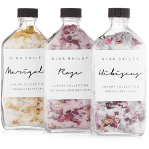 Nina Bailey | Botanical Bath Salt Soaks