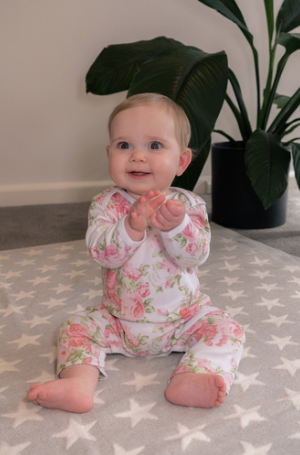 Emotion & Kids | Peony Rose Romper (000)