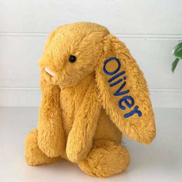 Personalised Jellycat Bunny - Saffron