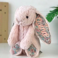 Personalised Jellycat Bunny - Blush Blossom