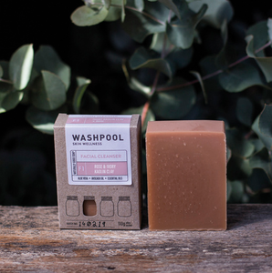 Washpool | Rose & Ivory Kaolin Clay Facial Cleanser