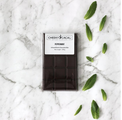 Cheeky Cacao | Peppermint Infused Chocolate Bar