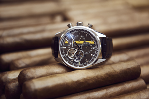 The Complete History of Cigar Wristwatches