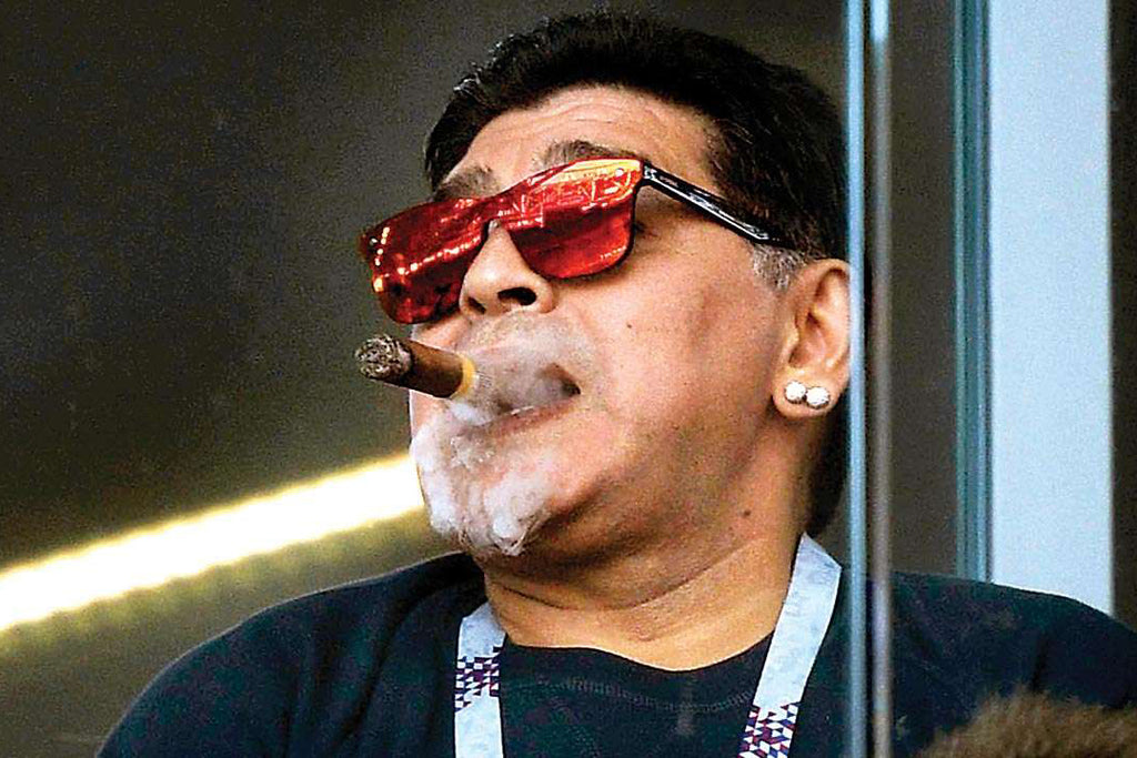 Icons of Cigars: Diego Maradona