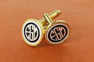 Statement Cufflinks: The Perfect Suit Finish