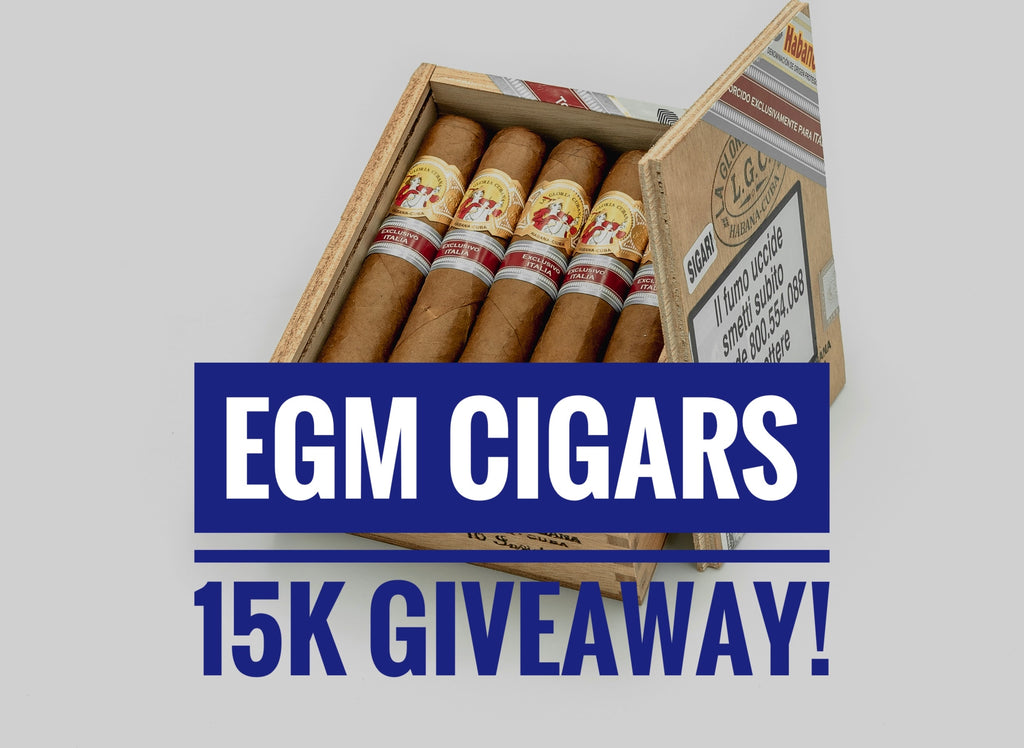 Cigars Giveaway: Celebrating 15k Instagram Followers