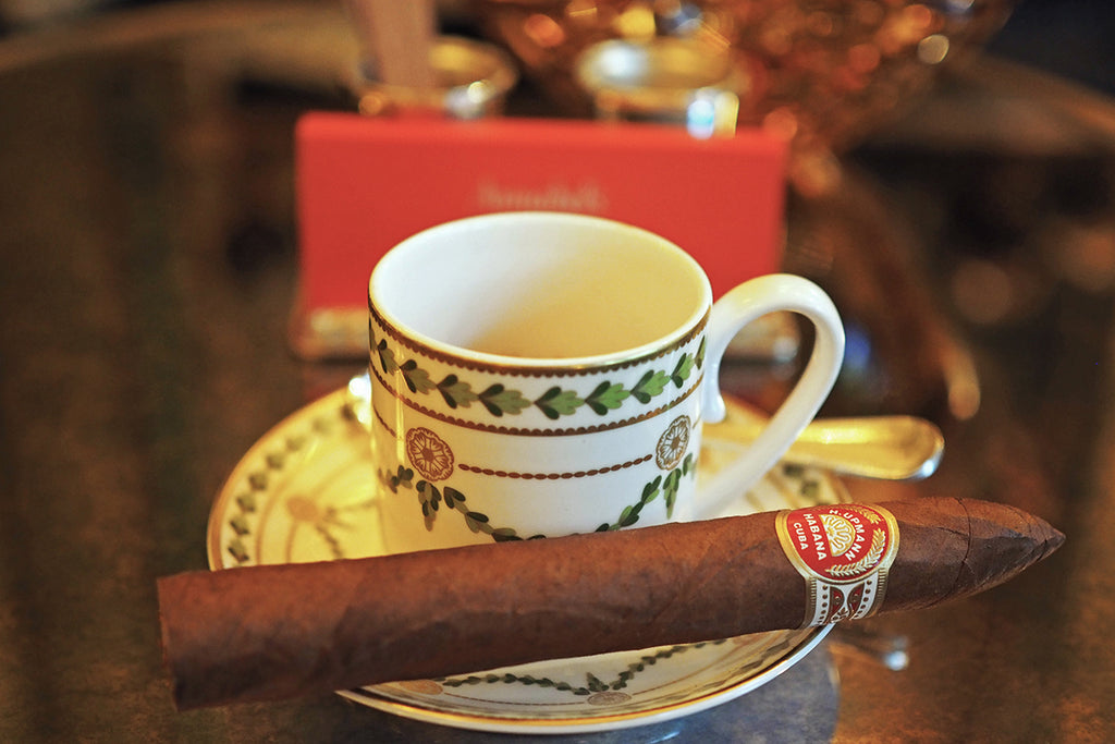Best Cigars and Tea Pairings with World Habanosommelier Champion 2018