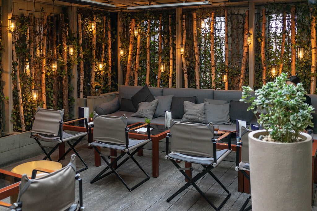 Where to Smoke: The Bar & Garden Terrace at The Hari