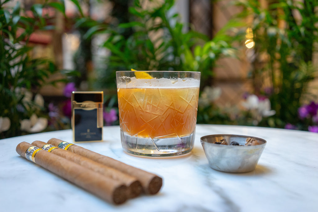 Where to Smoke: The Garden Lounge at Corinthia Hotel London