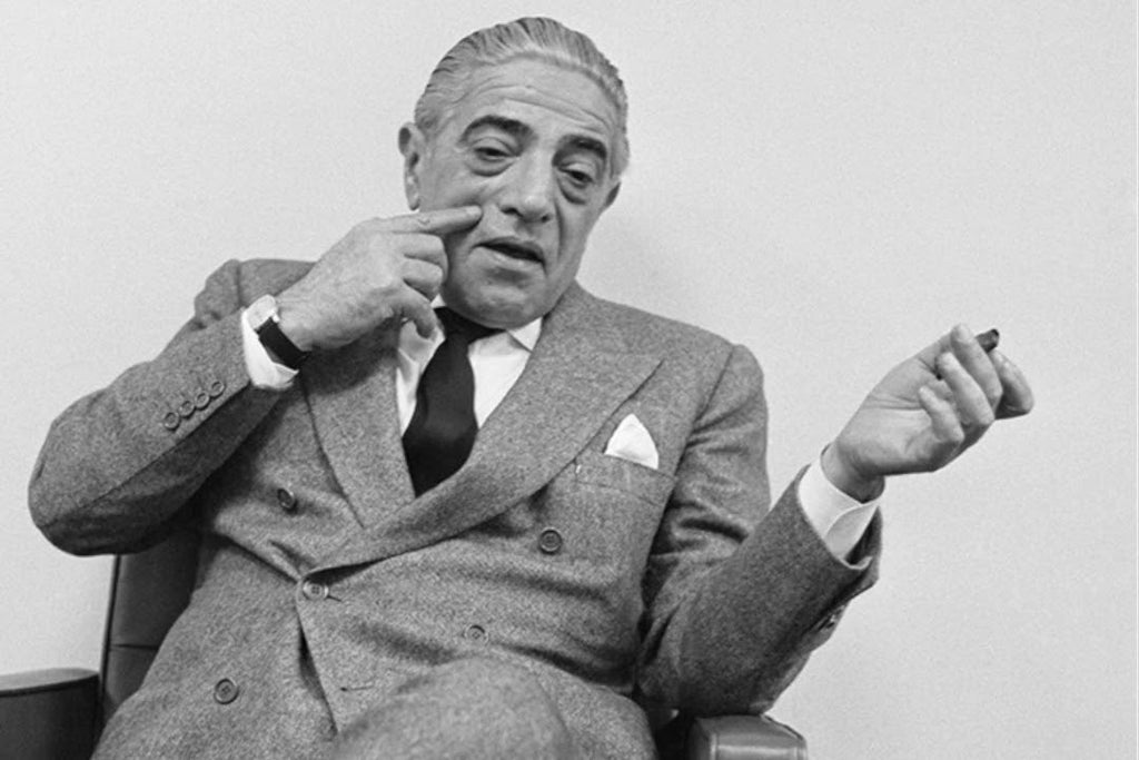 Aristotle Onassis: Wealth, Love, and Cuban Cigars