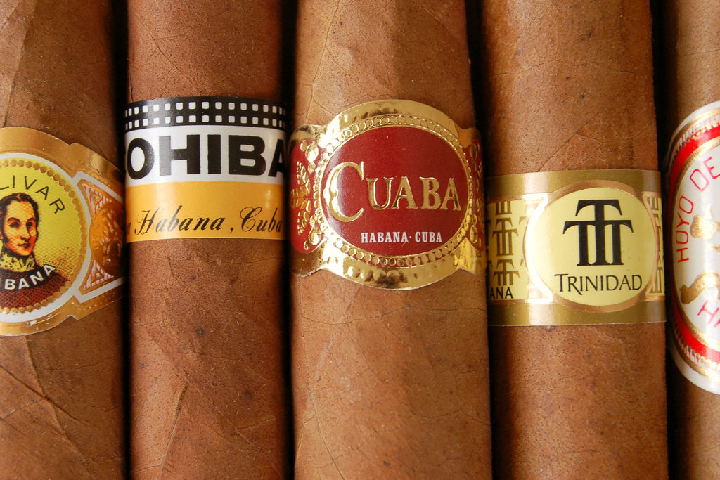 Images of Cigars from various brands