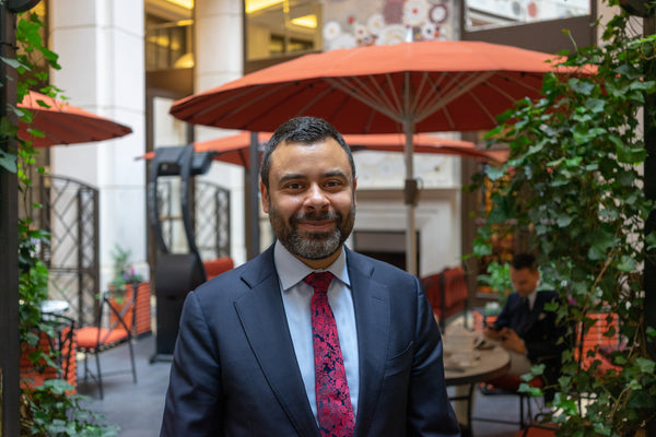 Adam Lajca - Cigar Sommelier - The Garden Lounge - Corinthia - EGM Cigars