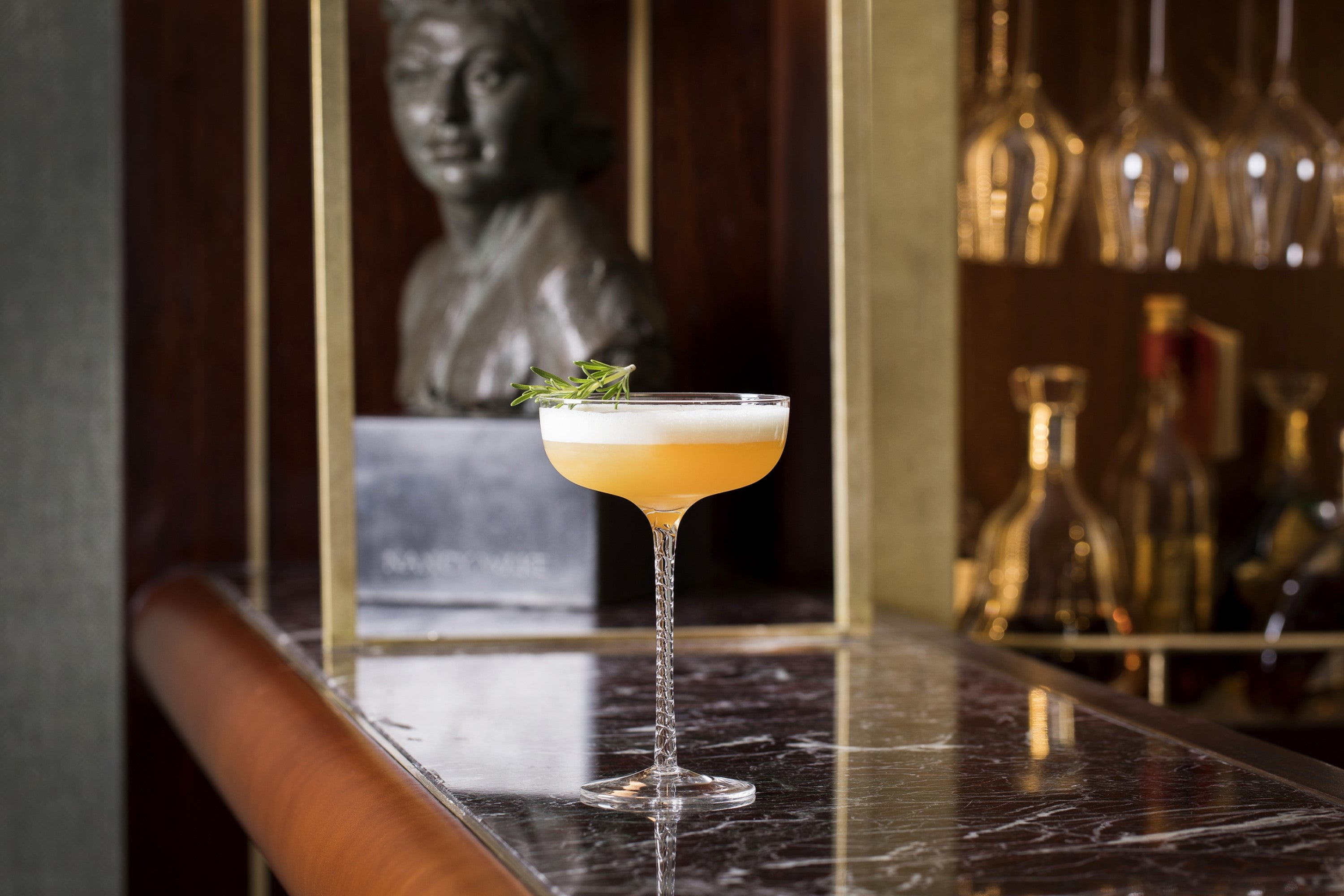 The White Mouse, the signature cocktail of The American Bar