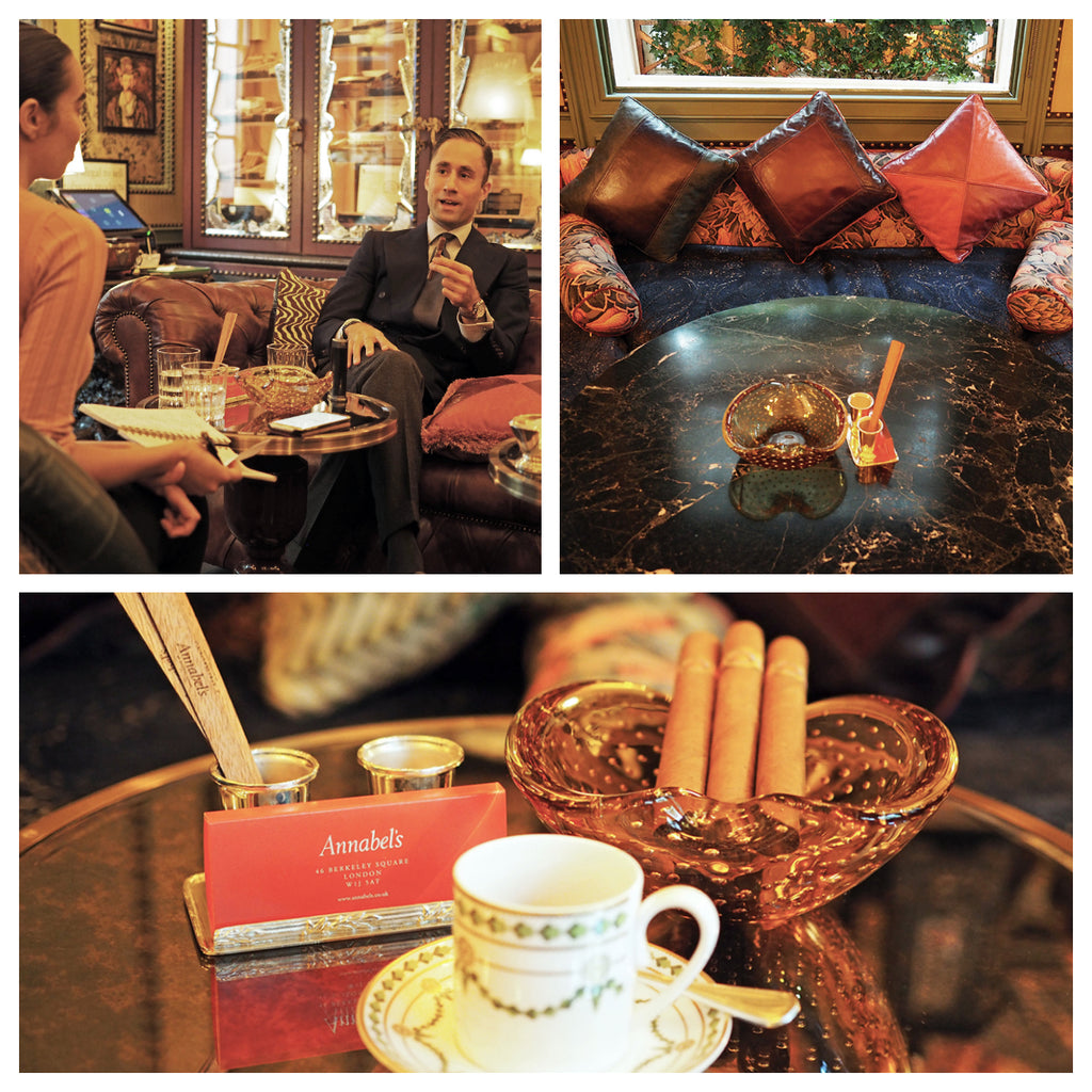 Cigar and Tea Pairings - Annabel's - EGM Cigars