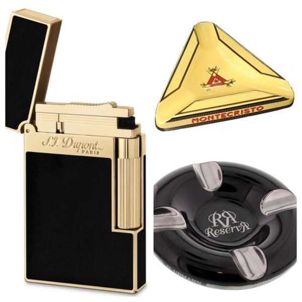 Cigar Accessories - Ashtray and Lighter - EGM Cigars
