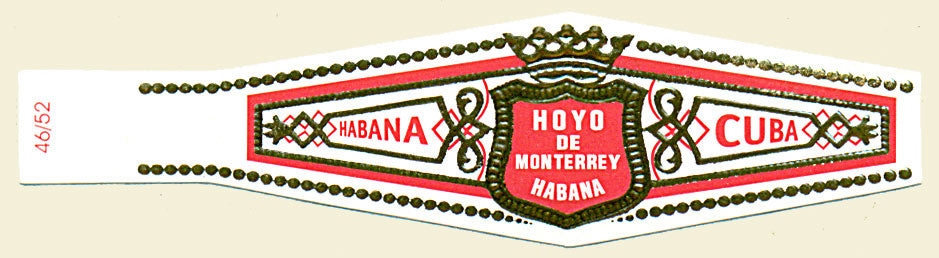 Image of the Hoyo de Monterrey Cigars band