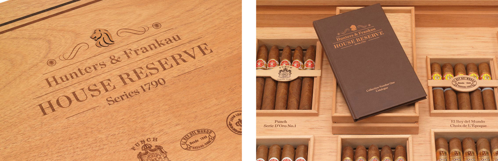 Hunters & Frankau Announces House Reserve Collectors Humidor egm cigars