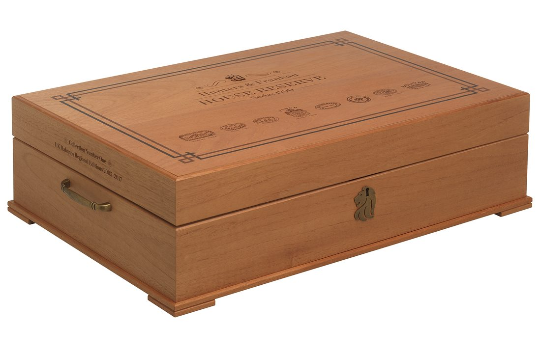 Hunters & Frankau Announces House Reserve Collectors Humidor egm cigars 4