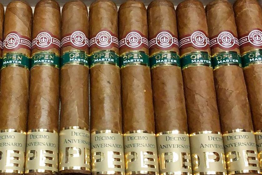 Montecristo Open Master Decimo Aniversario Cigar Available for Sale egm cigars