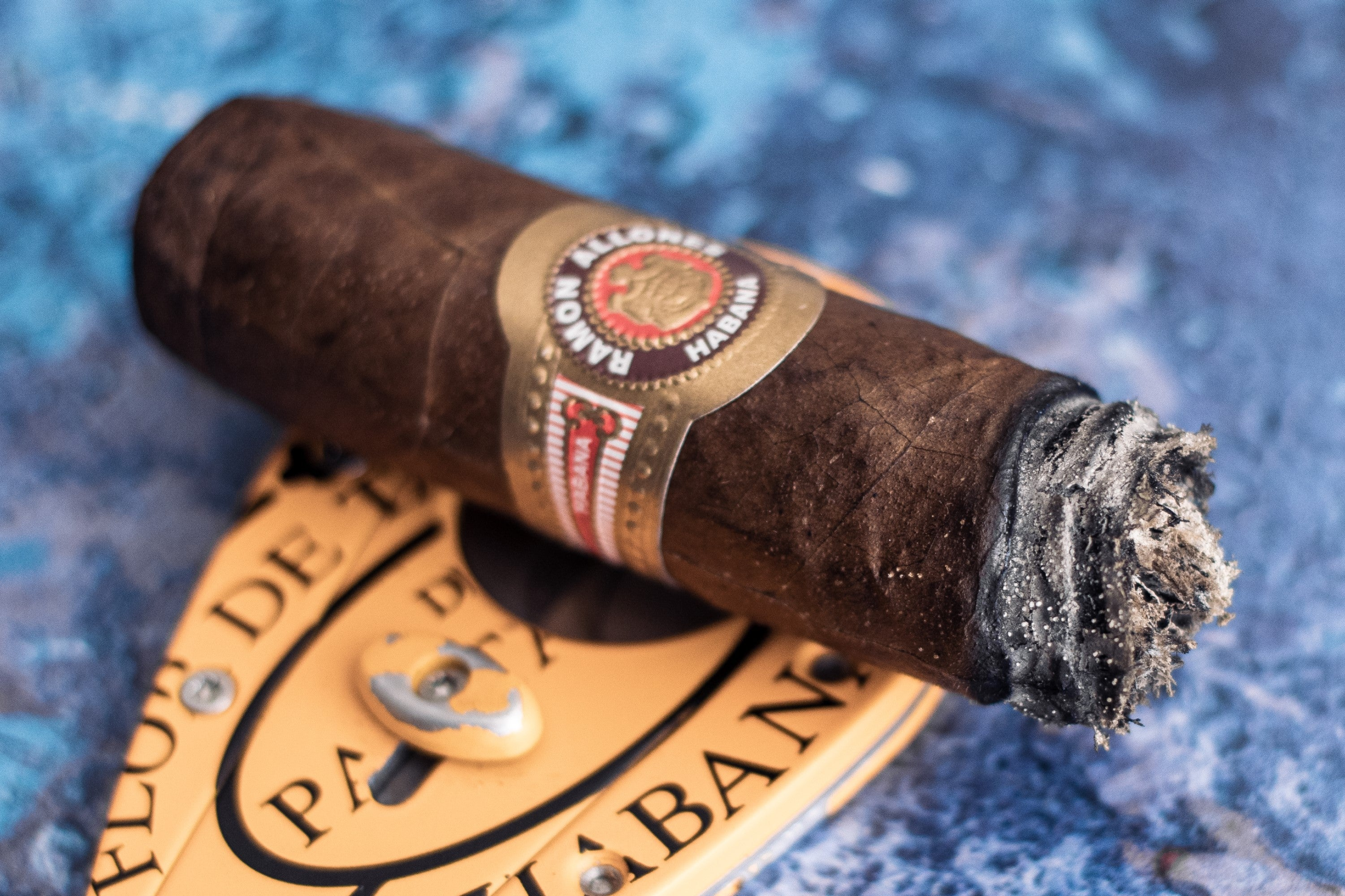 The Ramon Allones Specially Selected Cuban Cigar smoked to the nub.