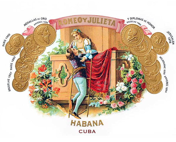 Romeo y Julieta Cuban Cigars for sale