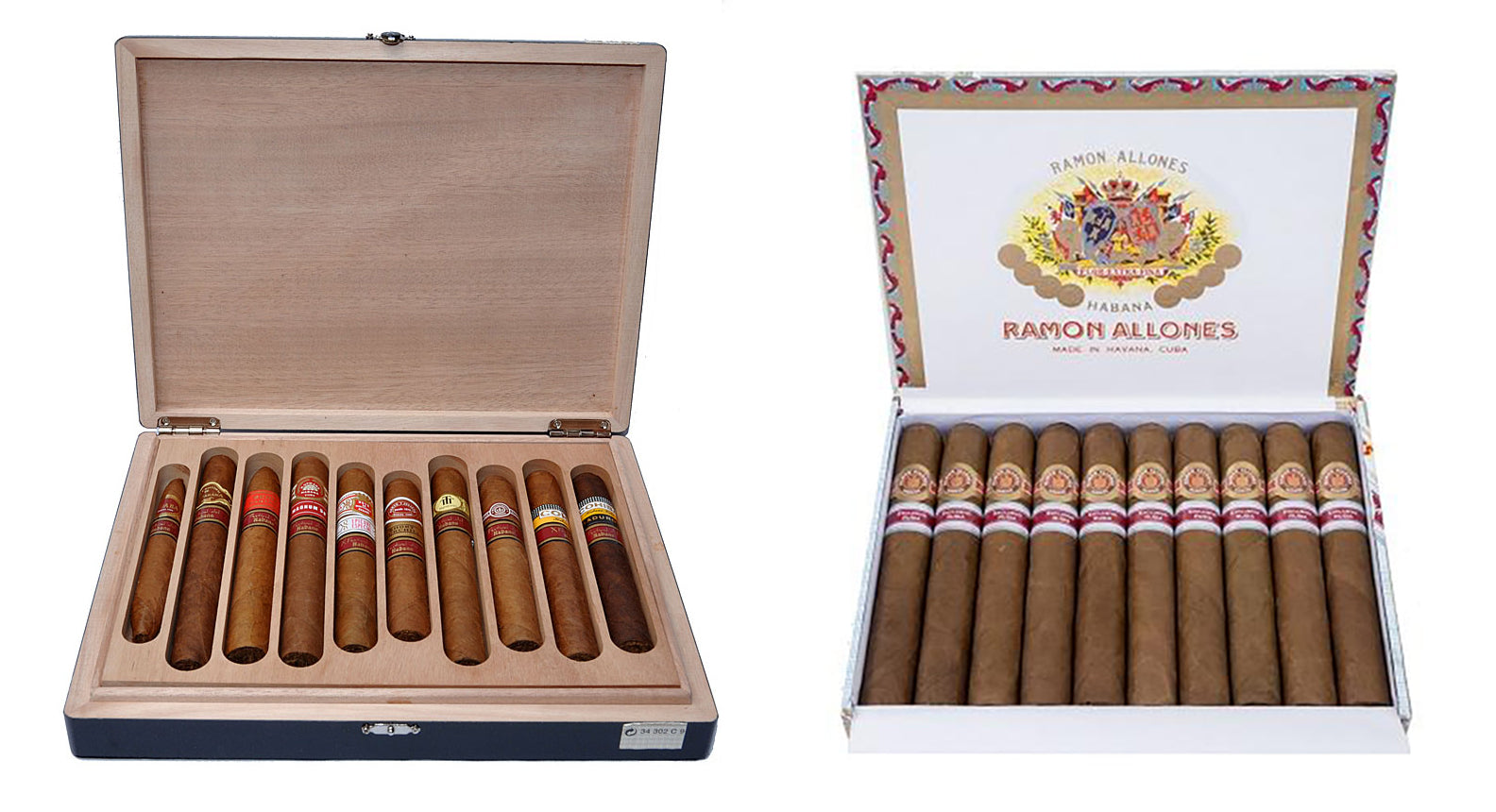 SELECCION X FEST. 2008 - COMMEMORATIVE CASE OF 10 cuban cigars and ramon allones hermitage cigar (ex rusia 2017) cuban cigars for sale online egm cigars