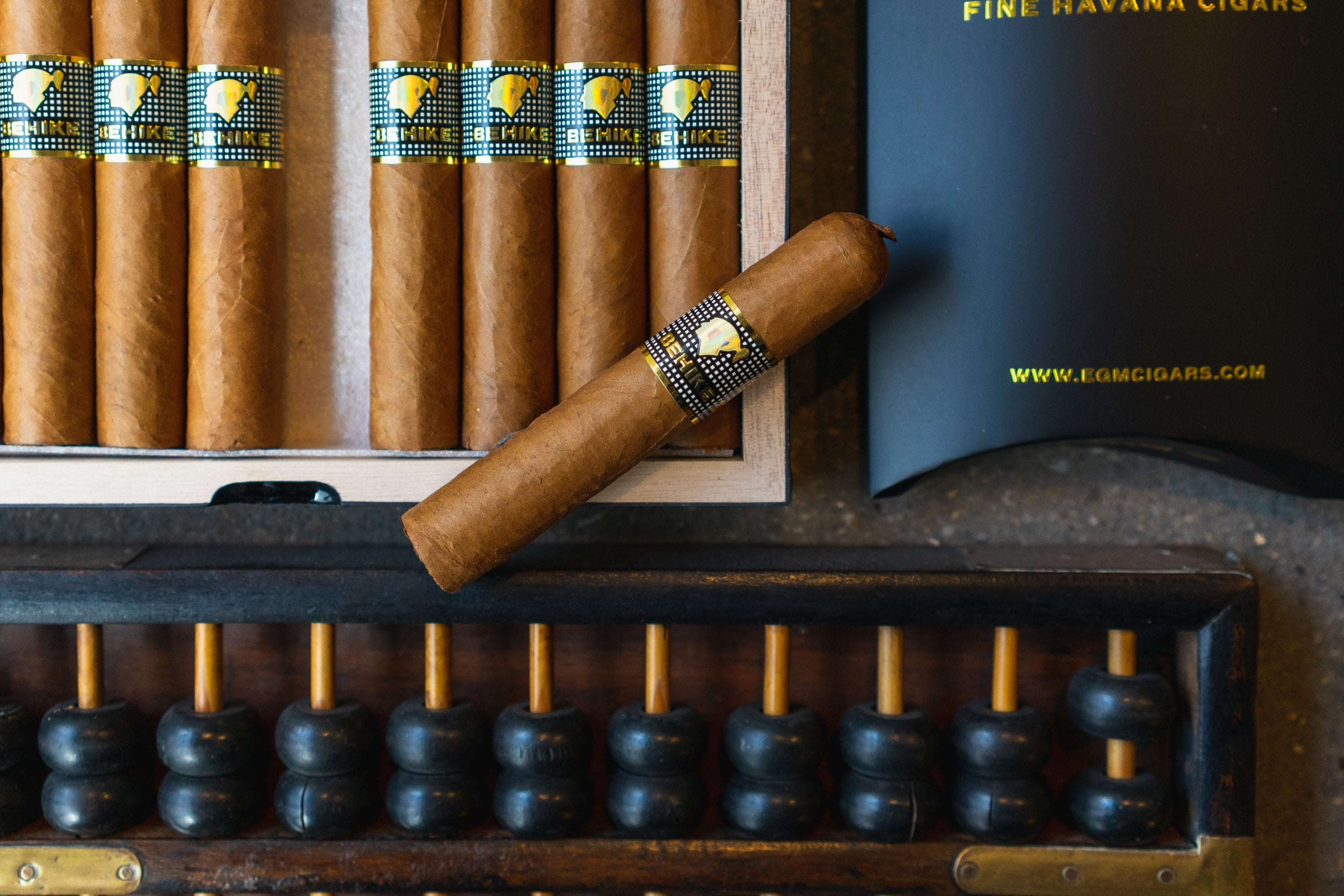 The Cohiba Behike line is the pinnacle of regular production Cuban cigars.